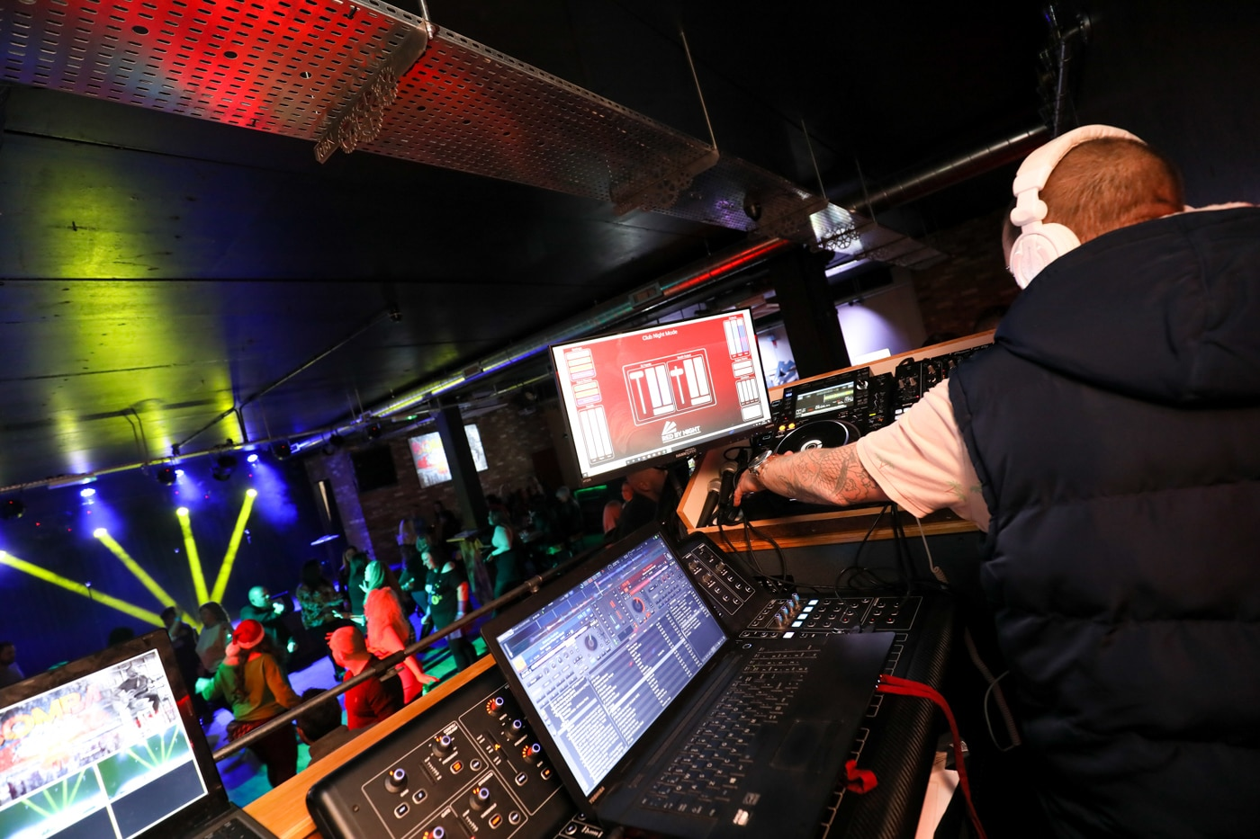 DJ at Red by Night